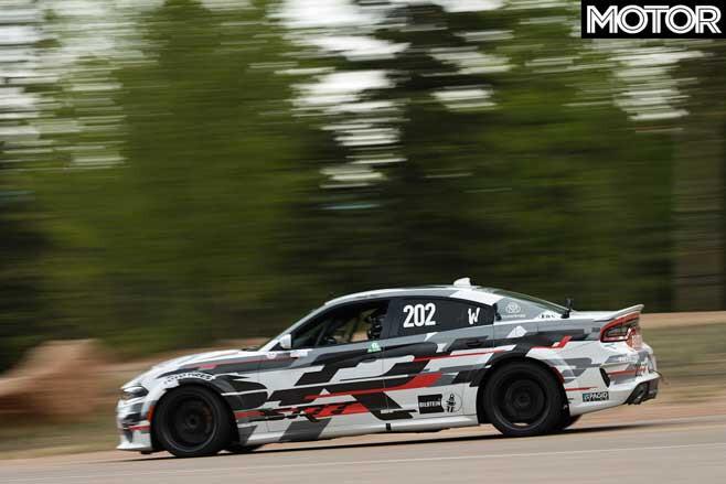 Dodge Charger SRT Hellcat Widebody Concept Pikes Peak Side Jpg