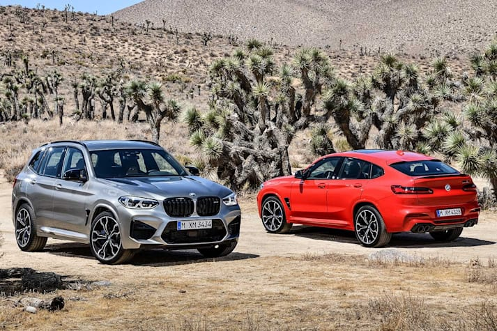 2019 BMW X3 M and X4 M unveiled