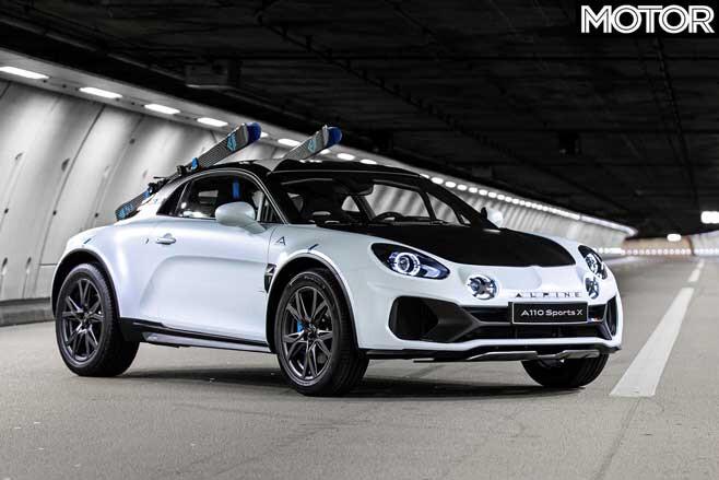 Alpine A 110 Sports X Concept Front Jpg
