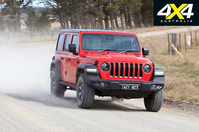 Jeep Wrangler Rubicon V 6 On Road Handling Jpg