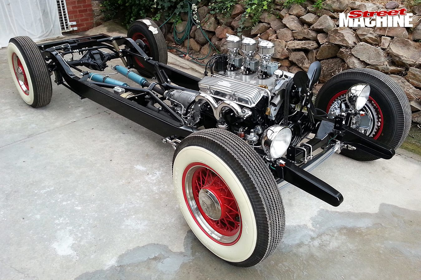 Chevy pickup chassis