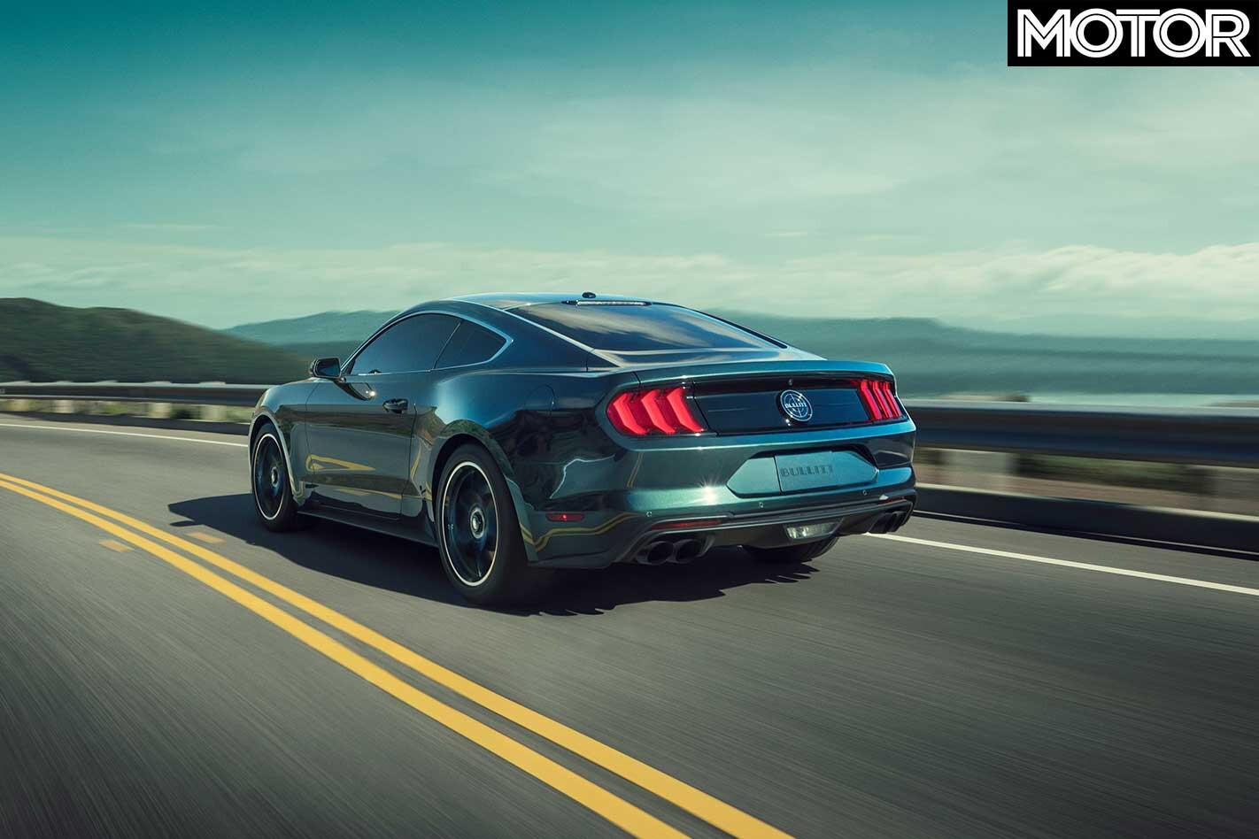2018 Ford Mustang Bullitt Rear Handling Jpg