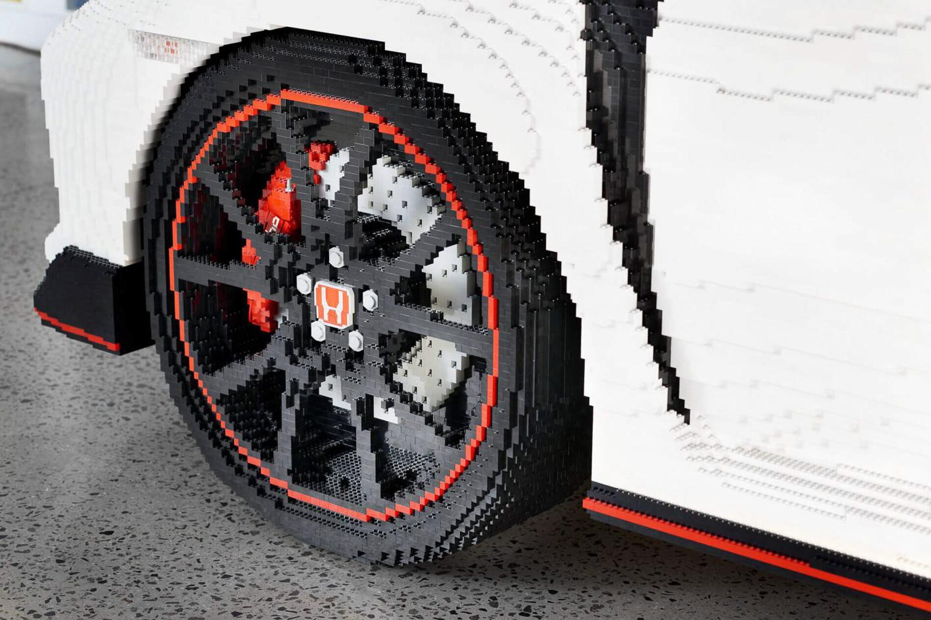 Honda Civic Type R lego