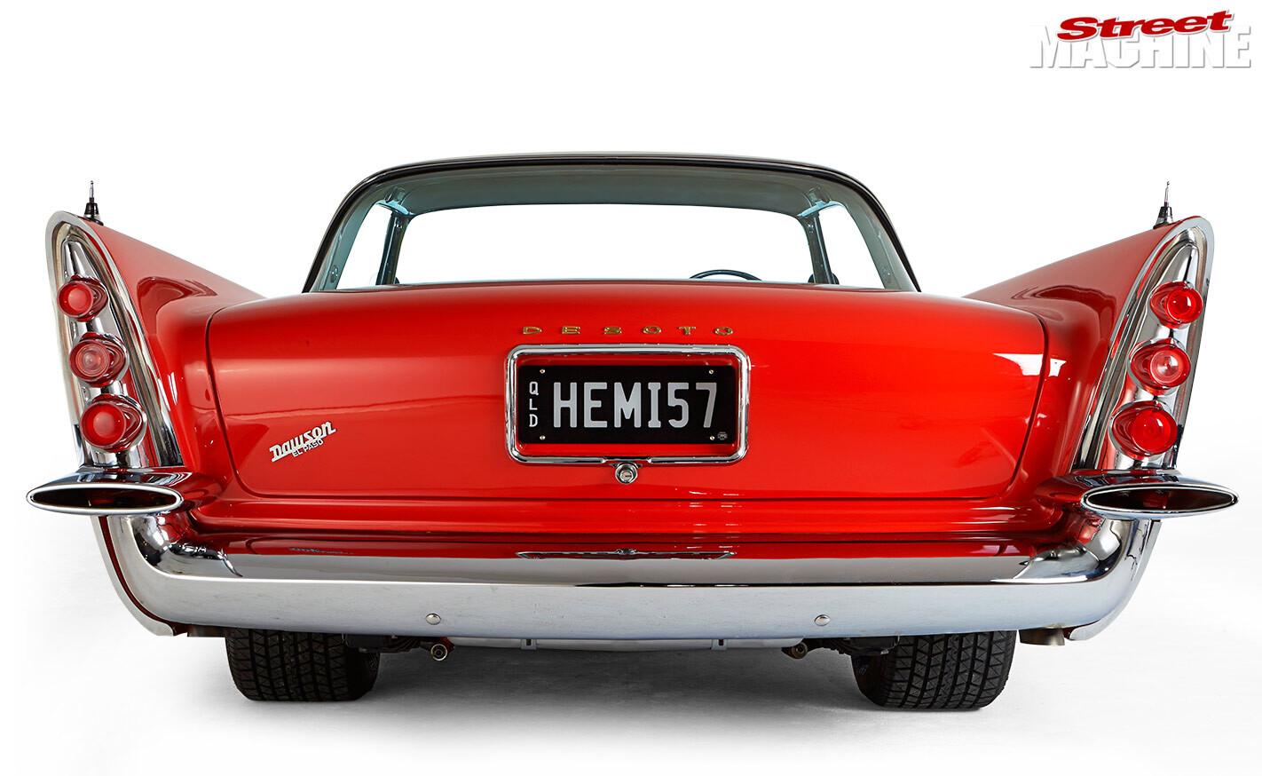 1957 DeSoto Fireflite rear