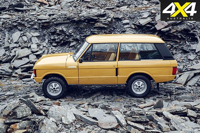 Range Rover Reborn side