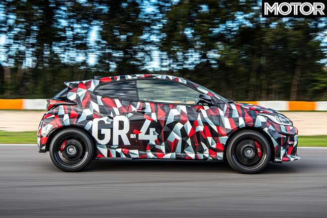 Toyota GR Yaris Prototype Performance Test Jpg