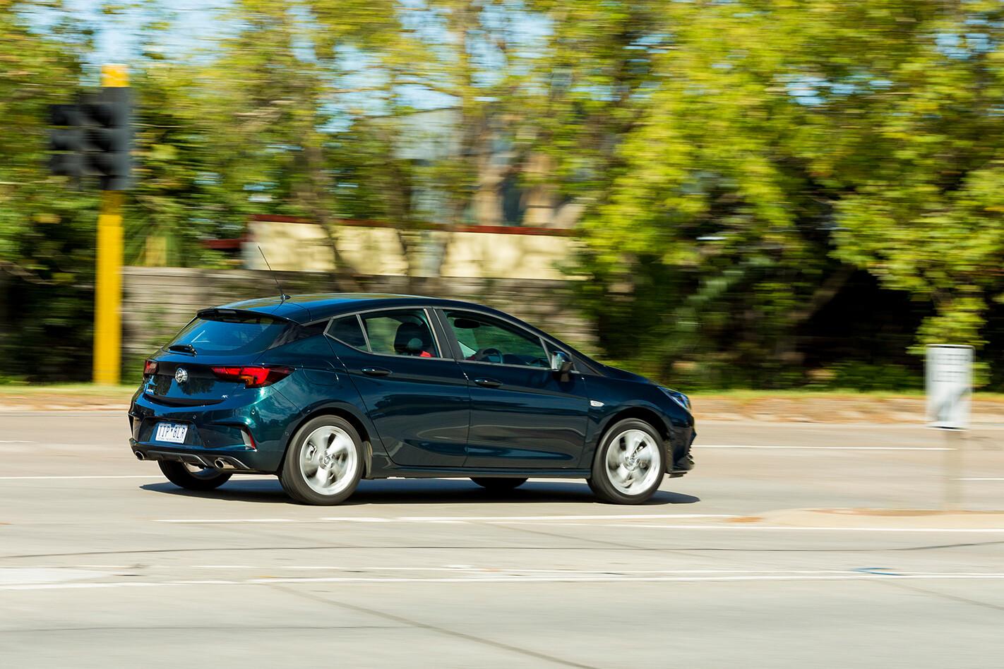 Holden Astra Rear Quarter Jpg