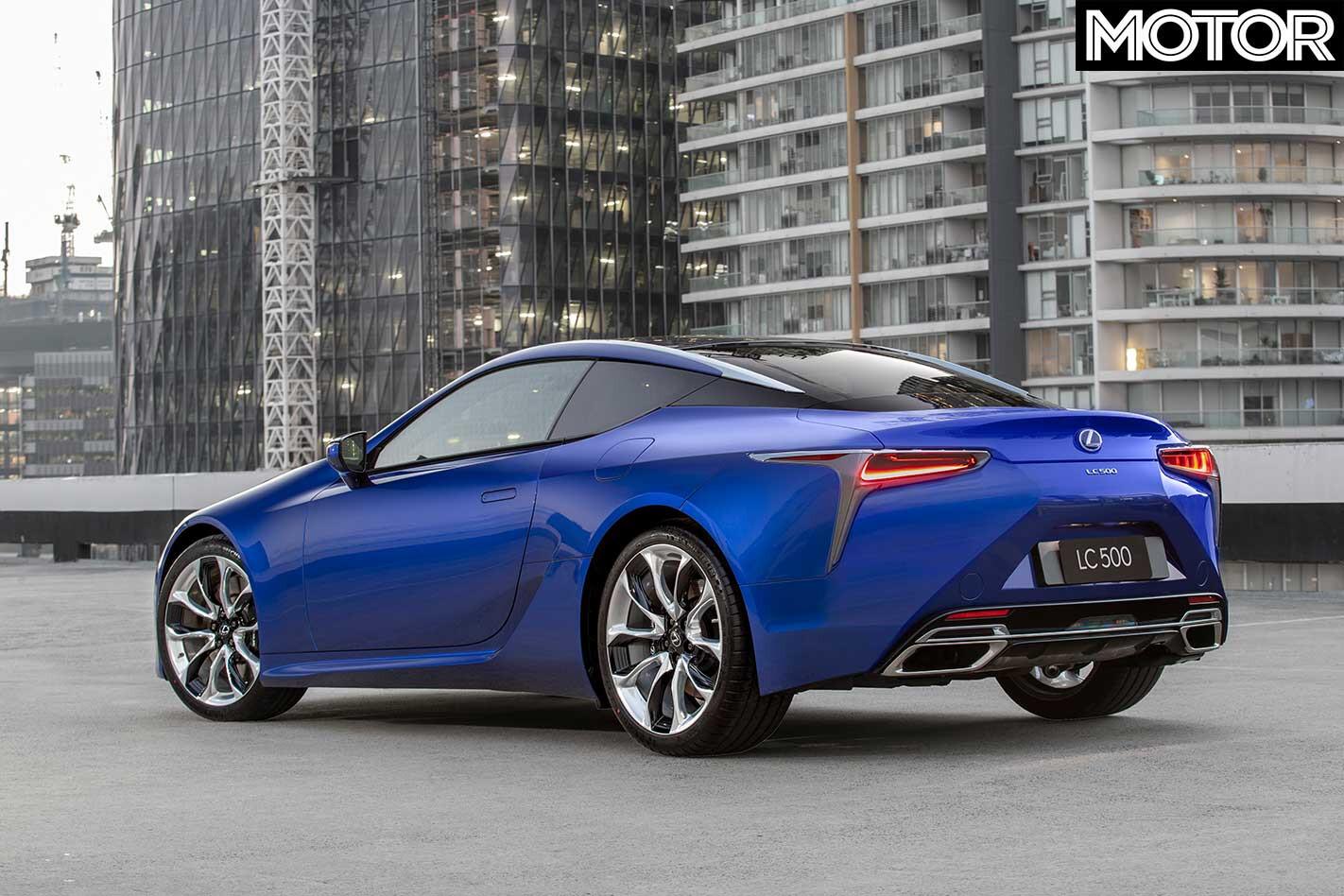 Lexus Morphic Blue Rear Jpg