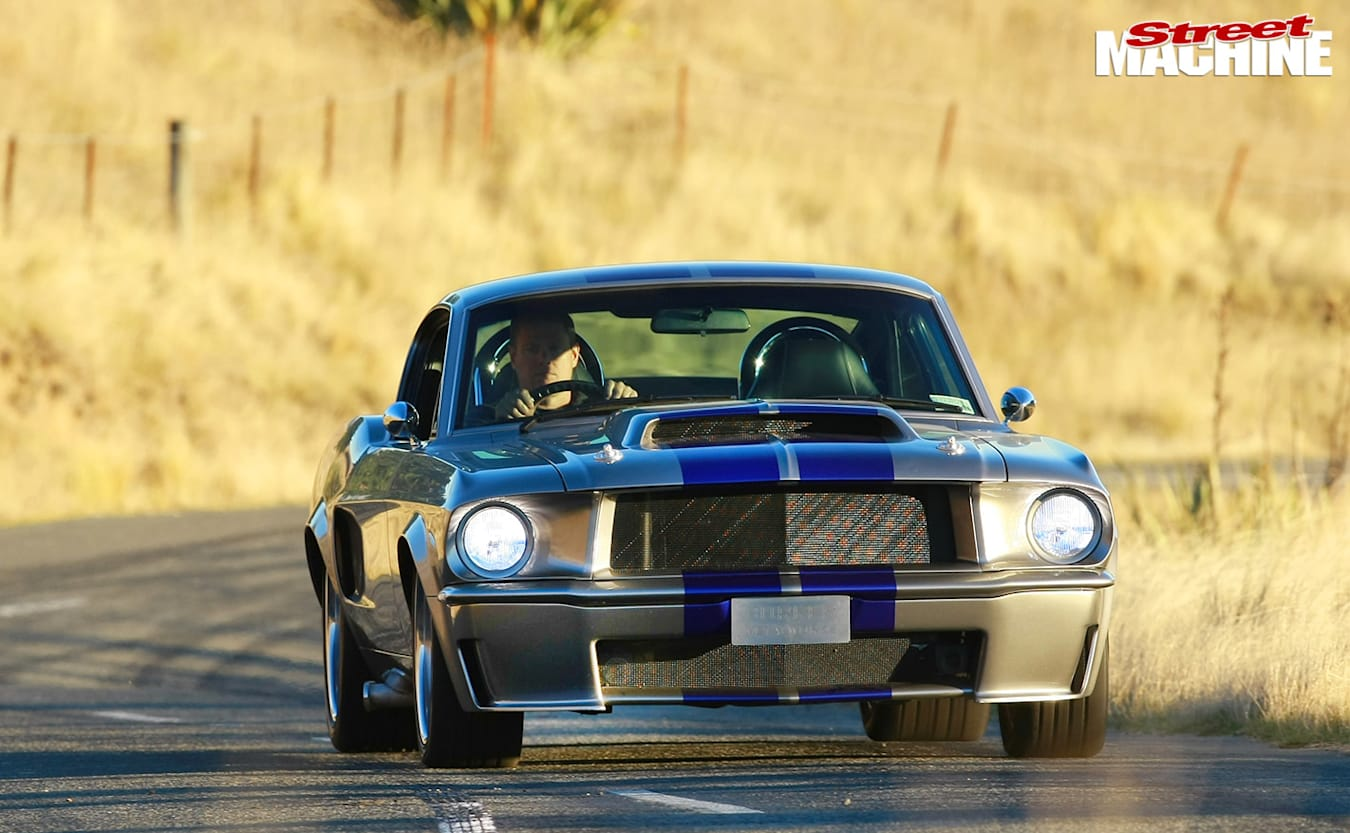 Ford Mustang fastback onroad