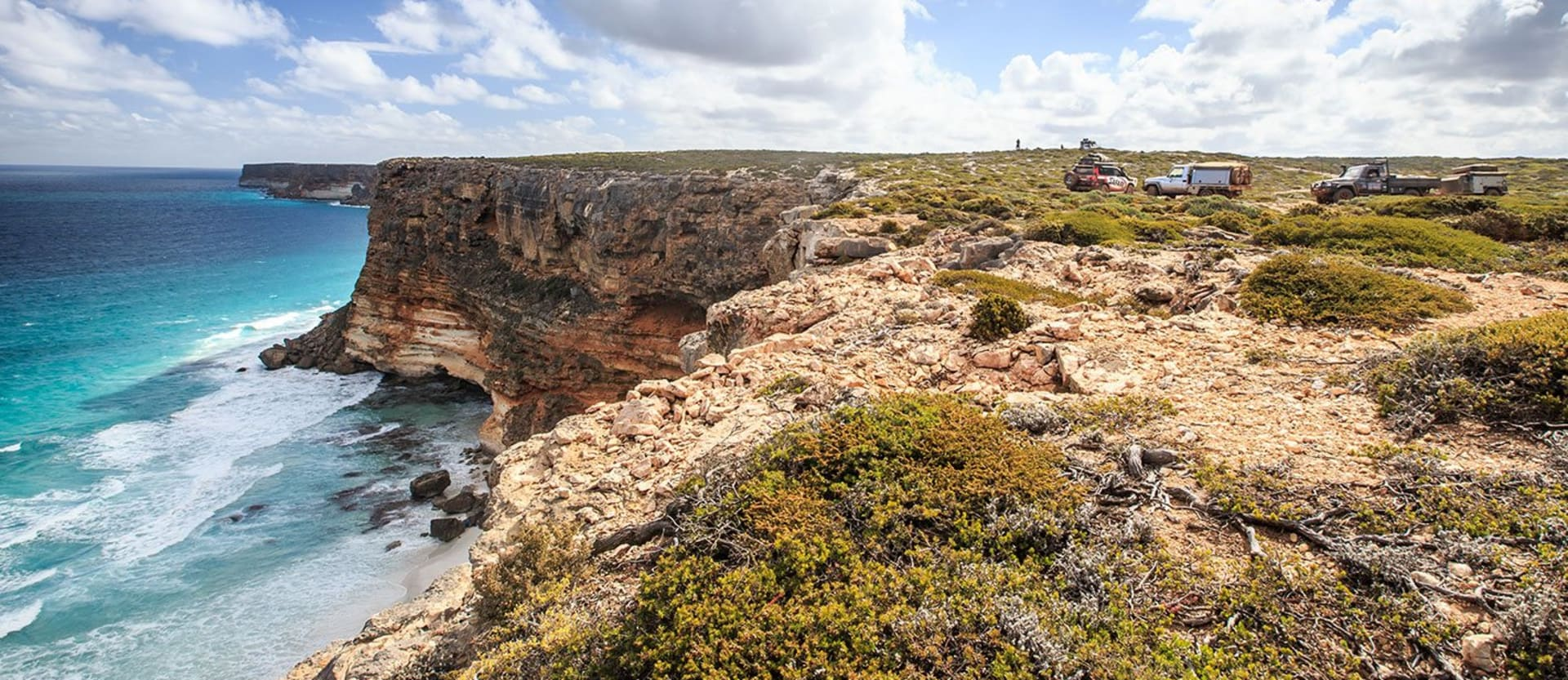 The South Australian Border cliffs of the Great Australian Bight