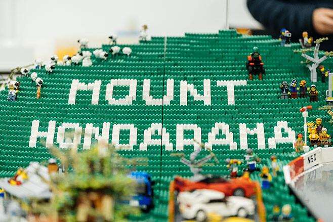Hondarama Lego Bathurst track