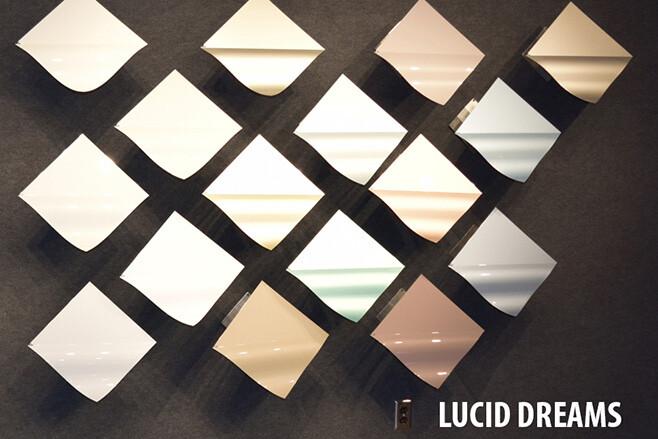 Lucid Dreams car colour palette