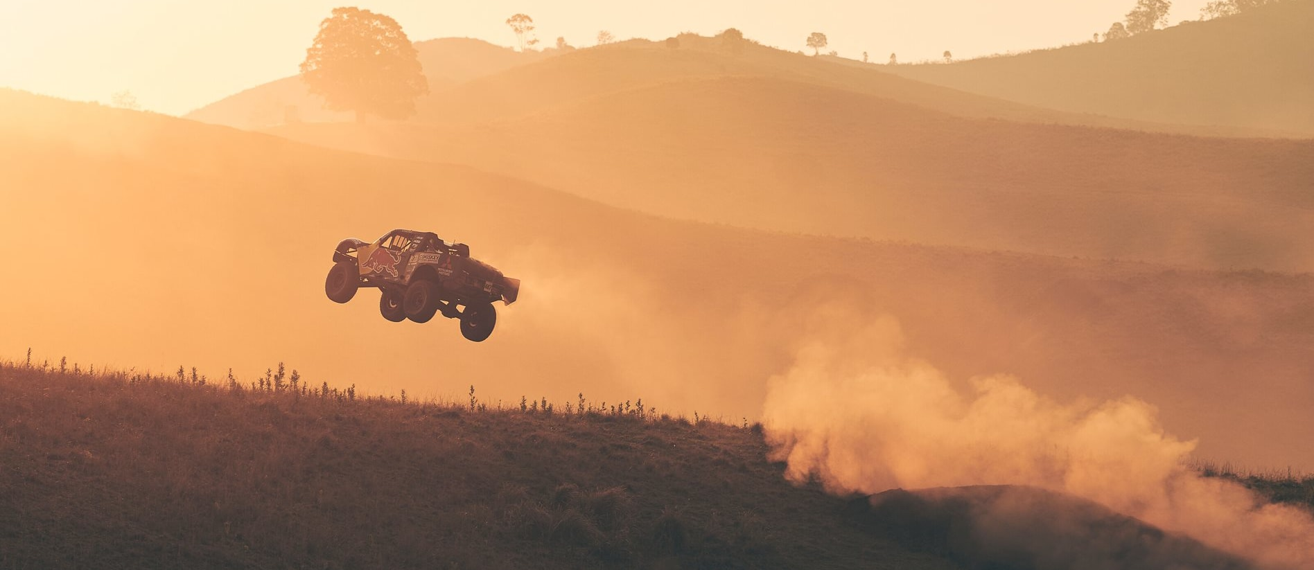 Killing drones and rolling Trophy Trucks: behind the scenes of Toby Price's epic new Red bull vid