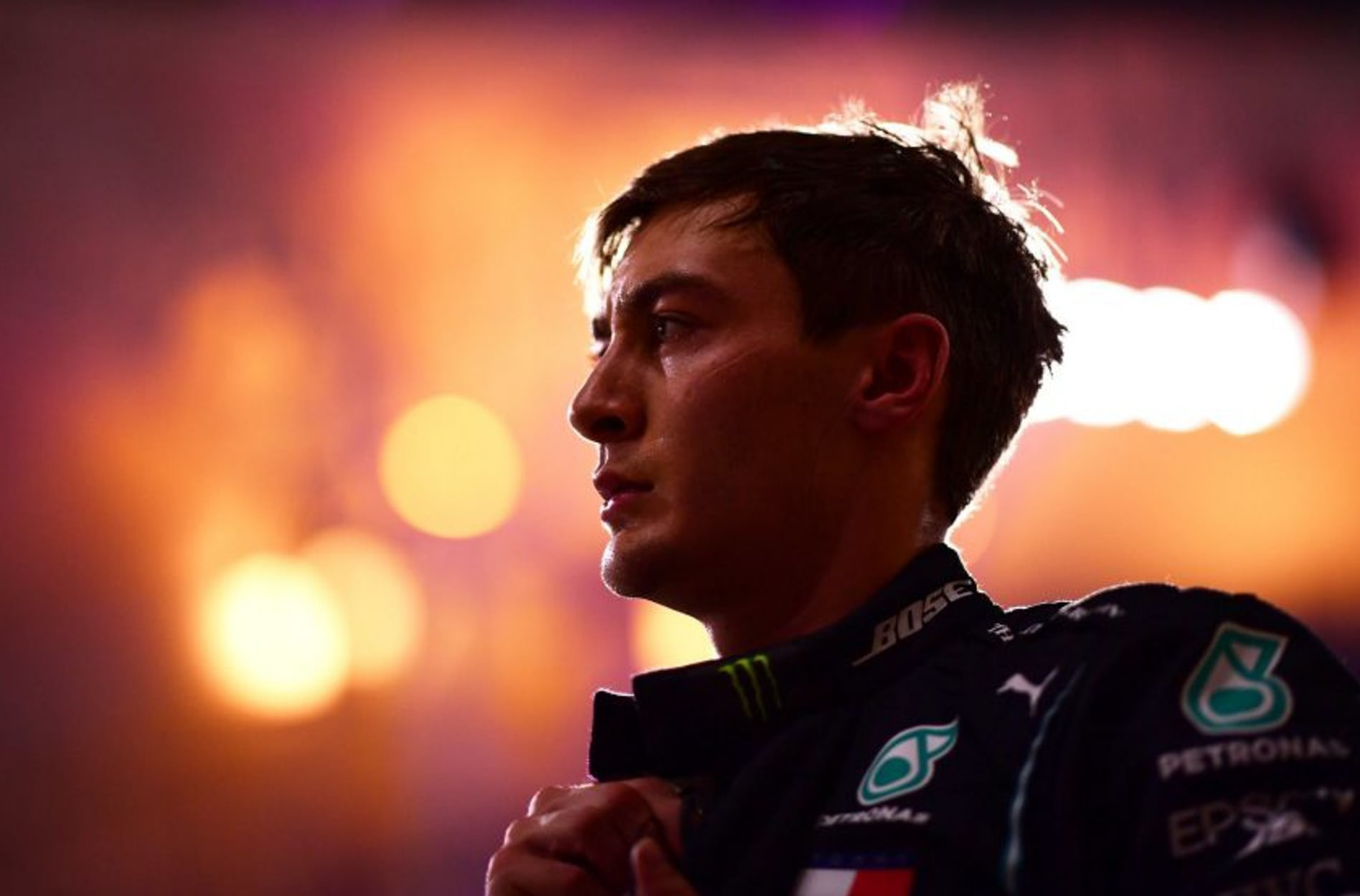 George Russell Mercedes AMG F1 2020