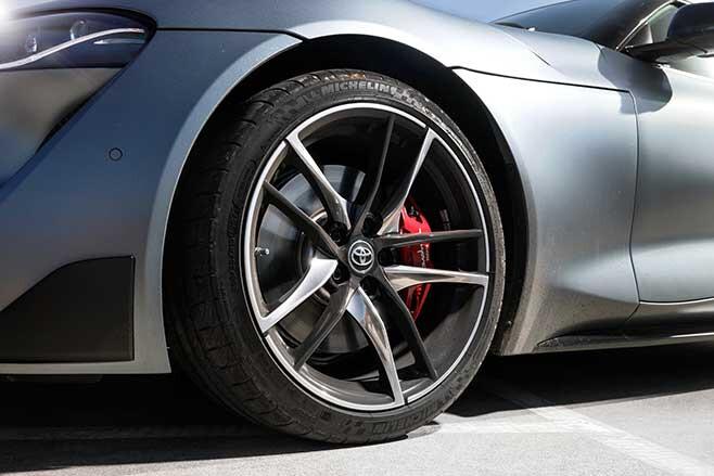 19-inch GTS wheels wear Michelin Pilot Super Sport tyres