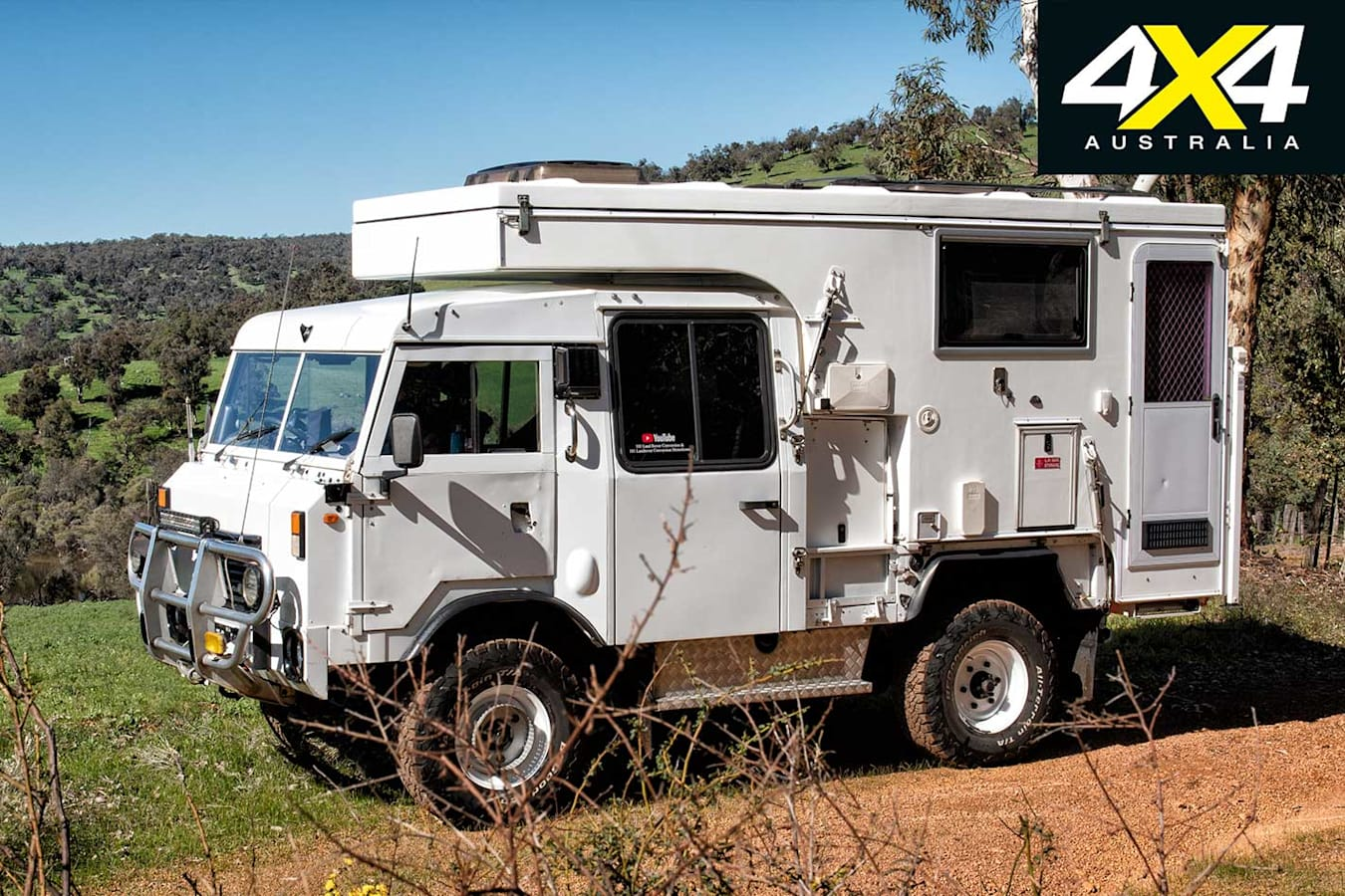 Custom Land Rover FC 101 Build Jpg