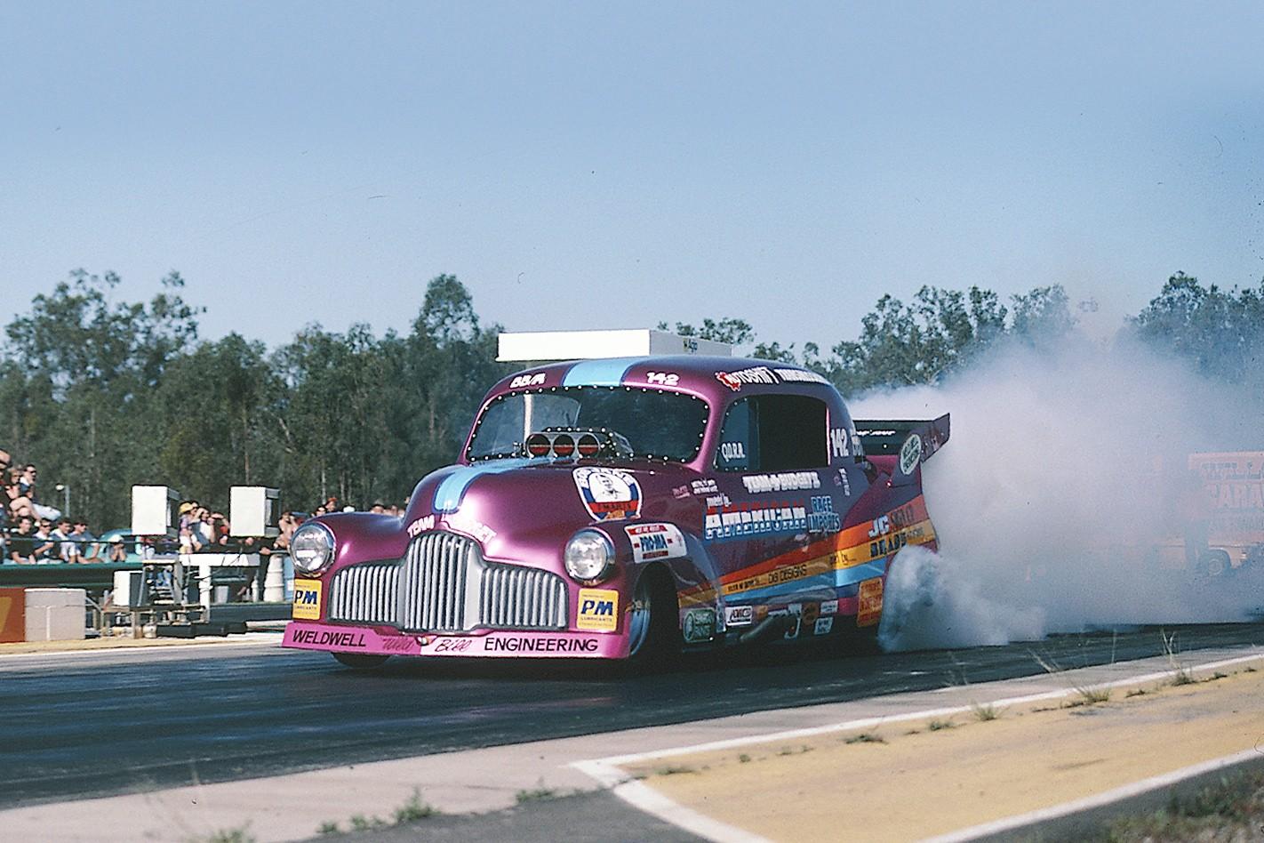 Holden FJ funnycar