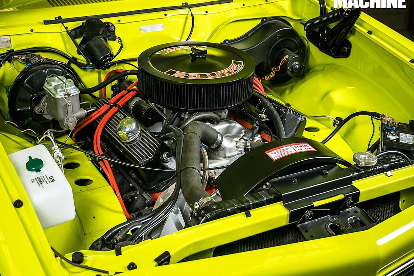 Holden LH Torana engine bay