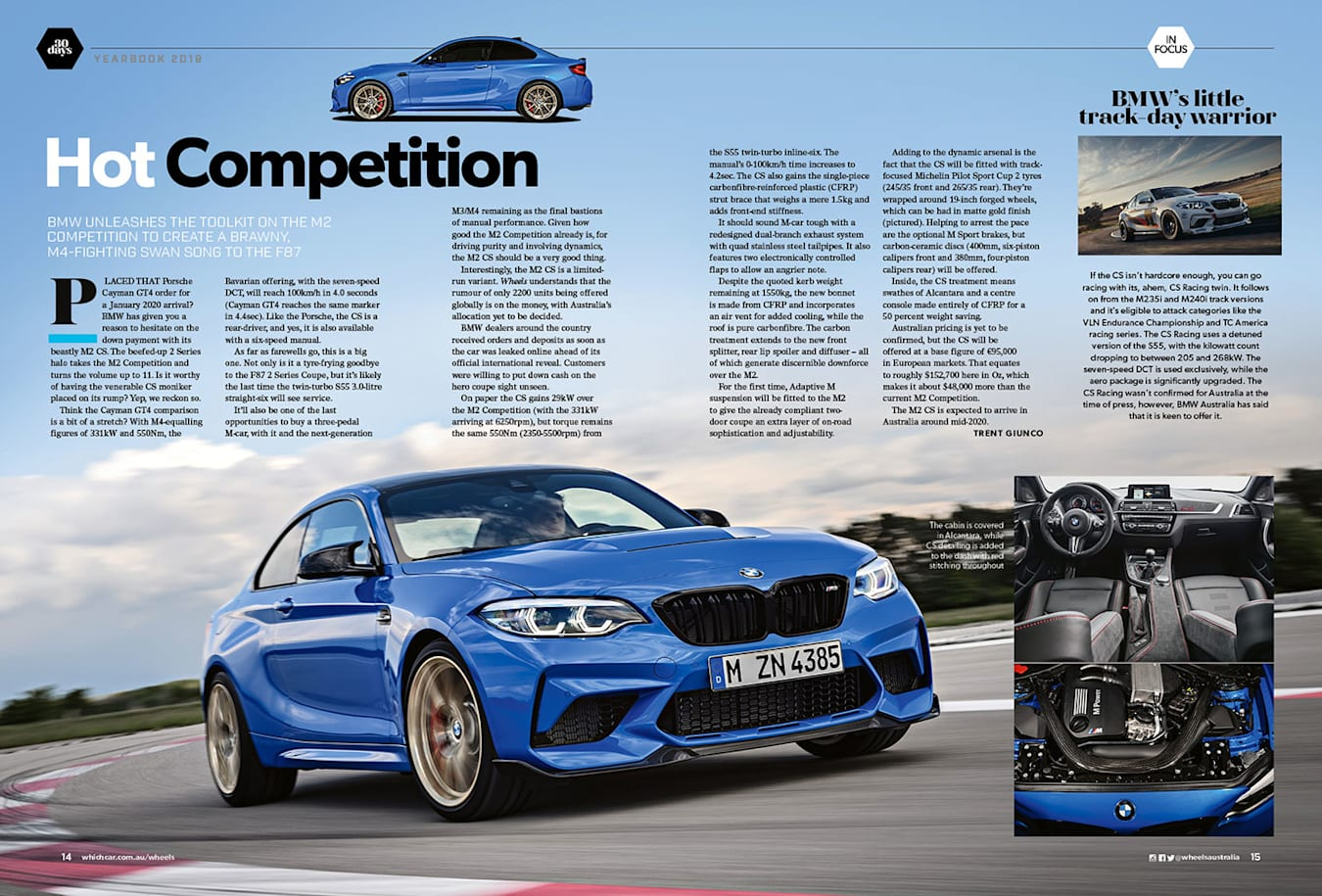 BMW M2 CS Mag Preview
