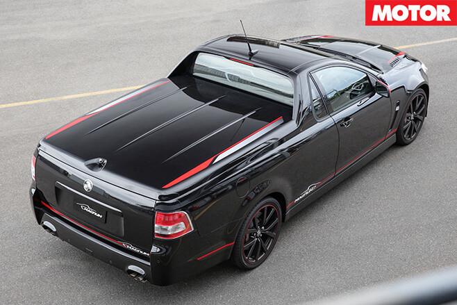 2017 Holden Magnum rear