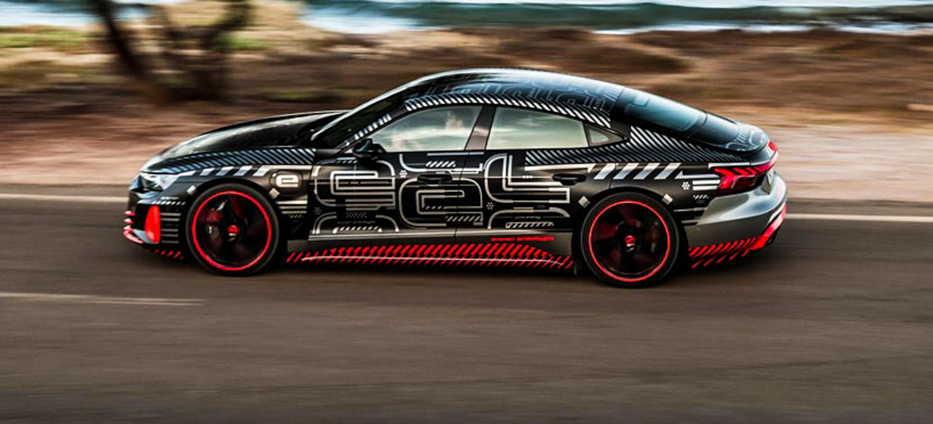 2021 Audi RS e-tron GT driven
