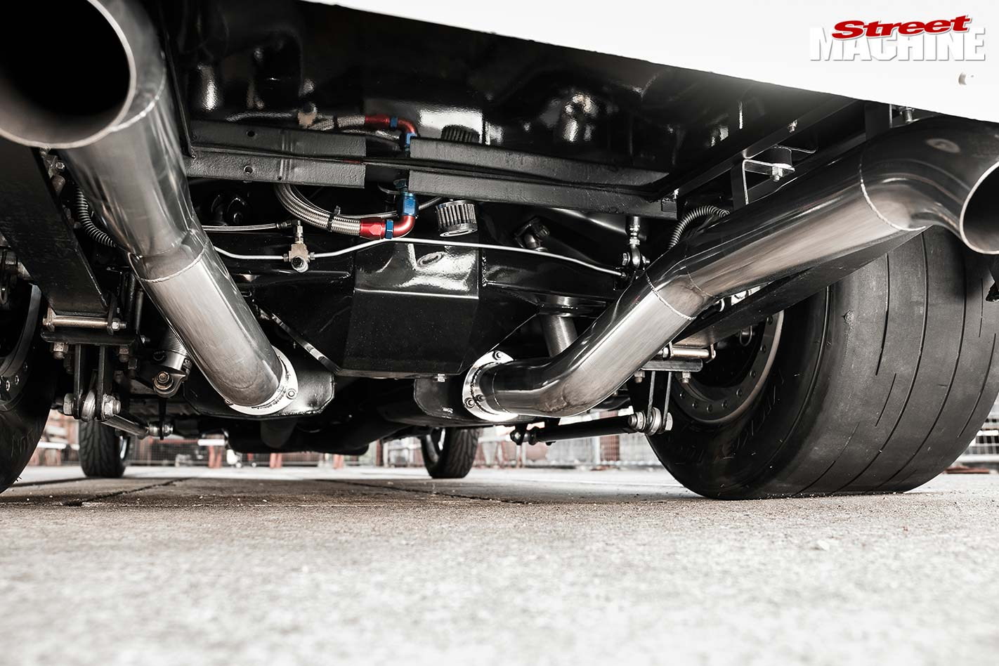 Ford Mustang exhaust
