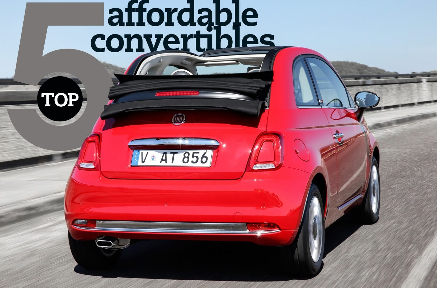 Top 5 Affordable convertibles