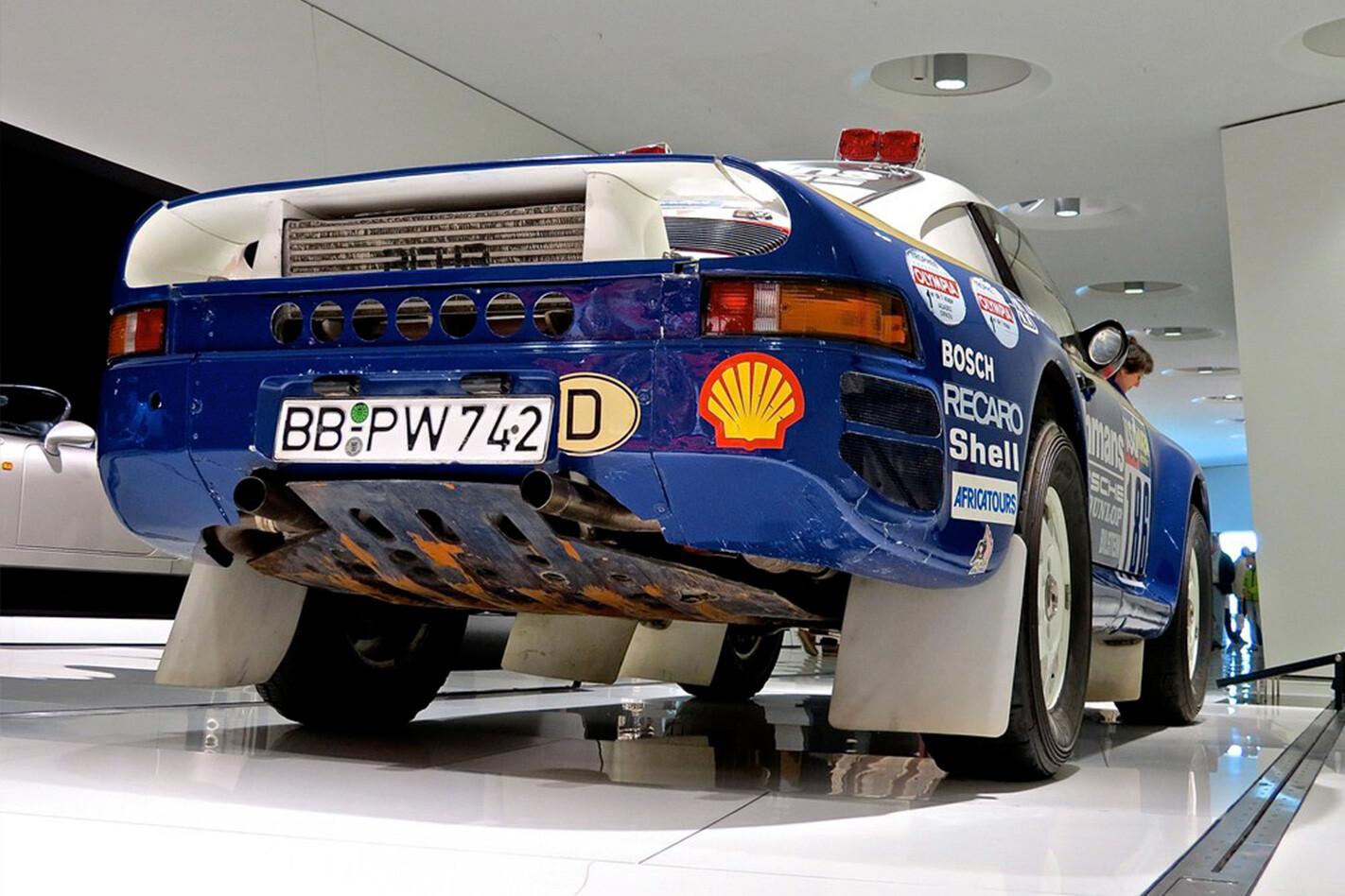 Group B Heros Porsche 959 Rear Quarter Jpg