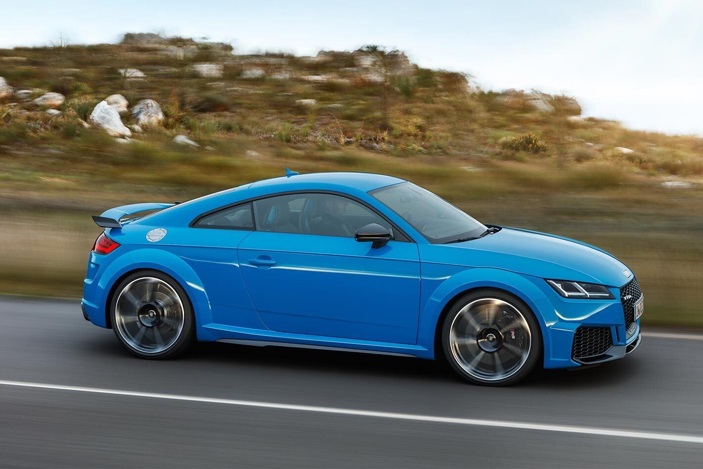 2020 Audi TT RS driving
