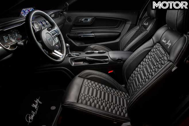 Carroll Shelby Signature Series Ford Mustang Interior Jpg