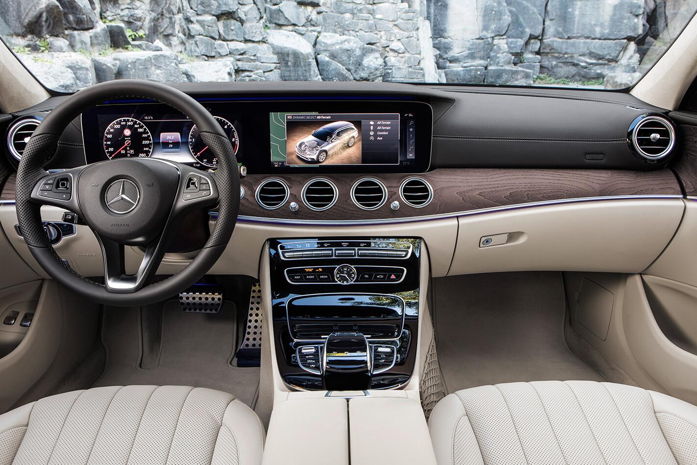 Mercedes Benz E 220 D All Terrain 2017 Interior Jpg