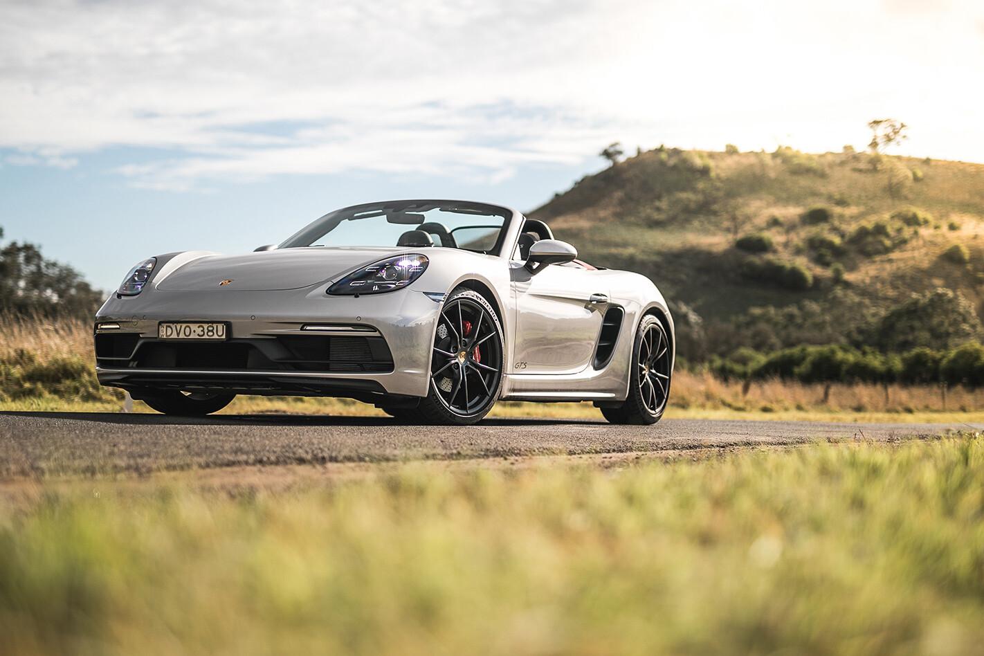 Porsche Boxster Gts Qtr Jpg