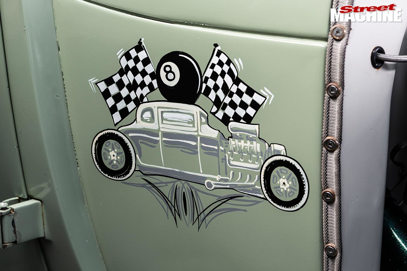 ford coupe paintwork