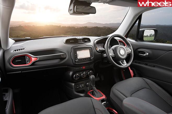 Jeep -Renegade -interiorl
