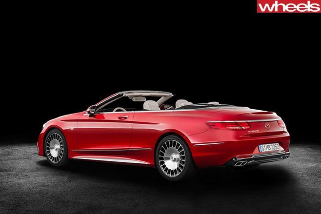 Mercedes -Maybach -convertible -rear -side