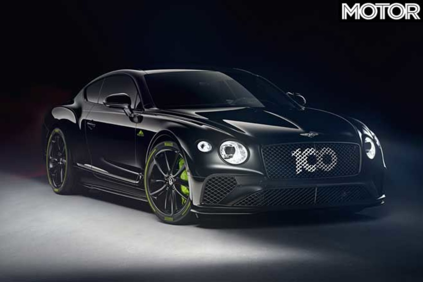 Bentley Continental GT Limited Edition Black Front Jpg