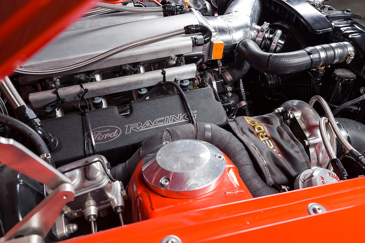 Ford Falcon XW ute engine
