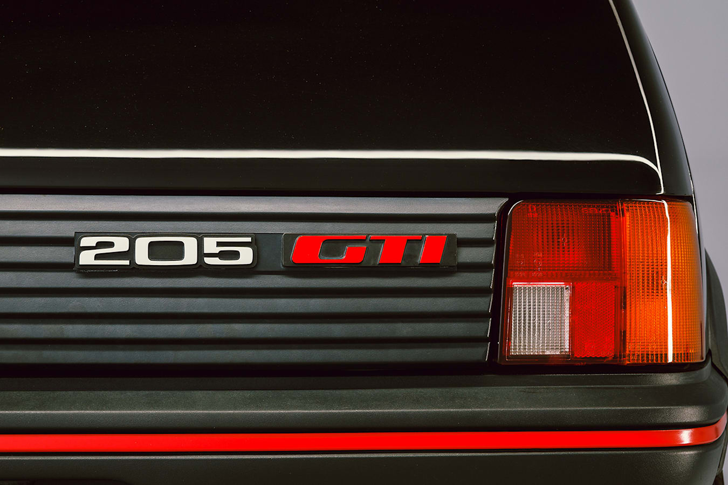 Classic Peugeot 205 GTi Badge
