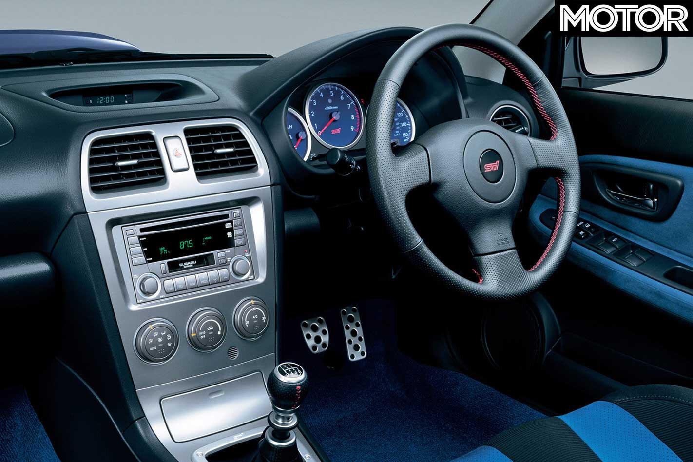 2005 Subaru Impreza WRX ST Interior Jpg