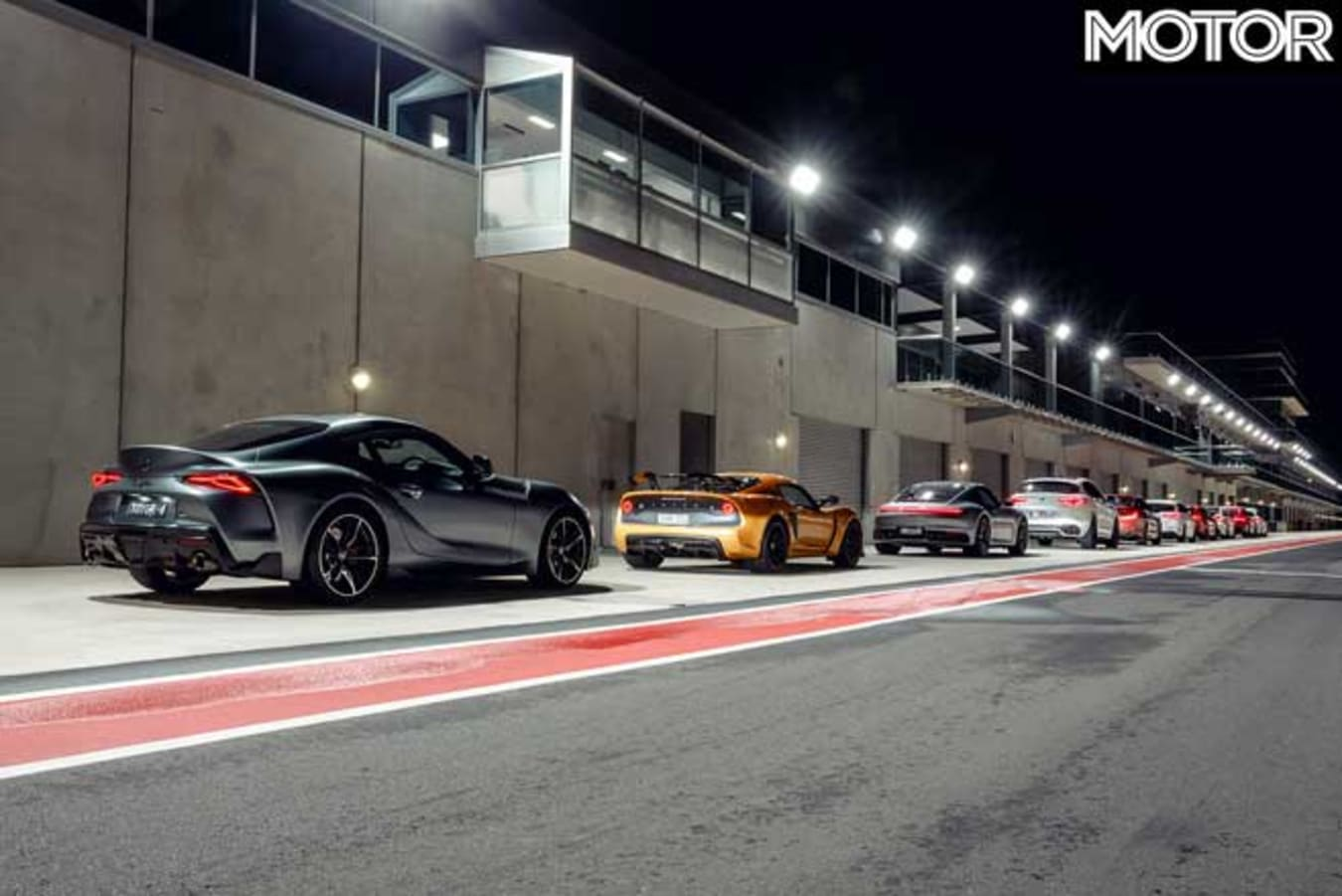 Performance Car Of The Year 2020 Track Test Pit Lane Jpg