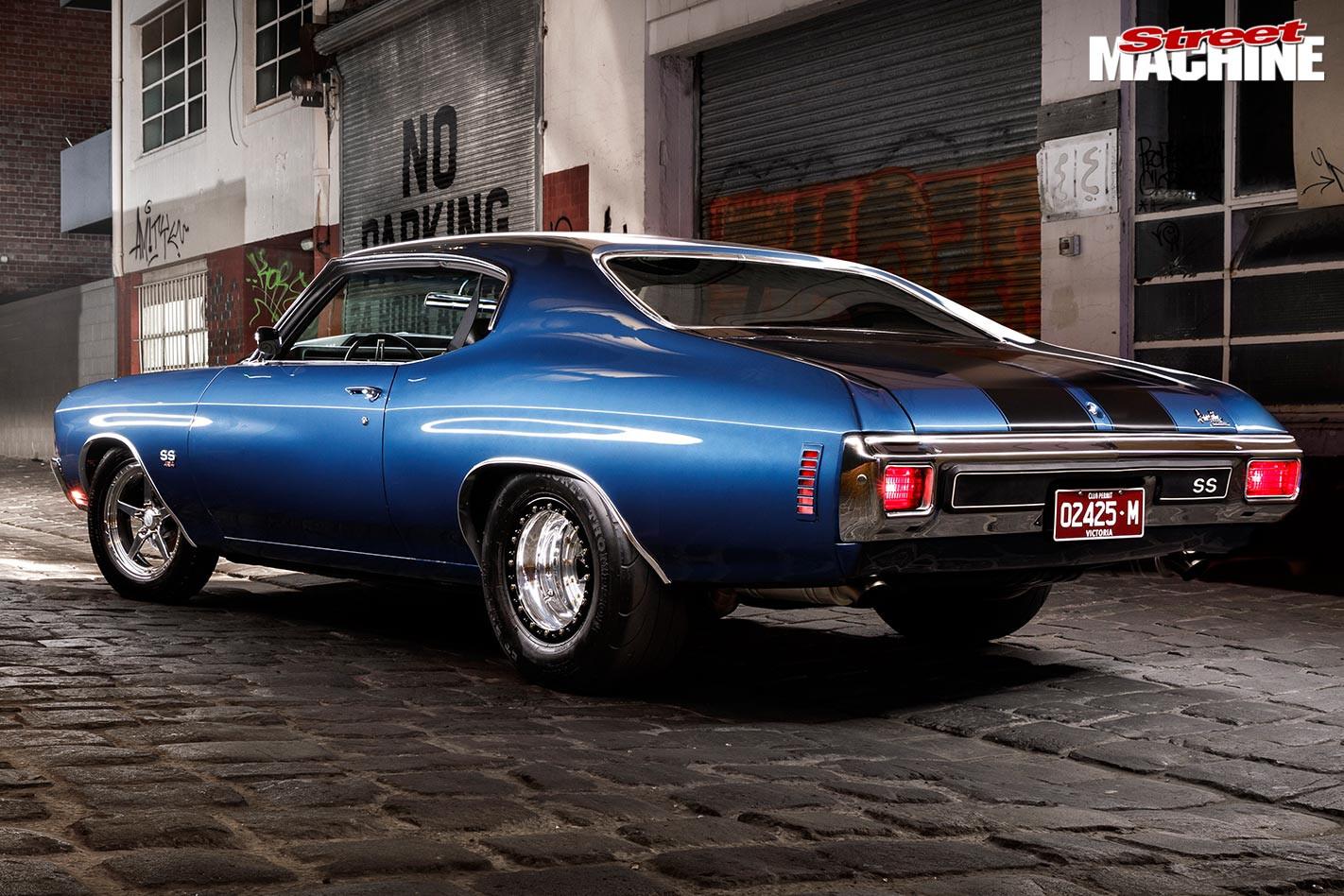Chevelle rear angle