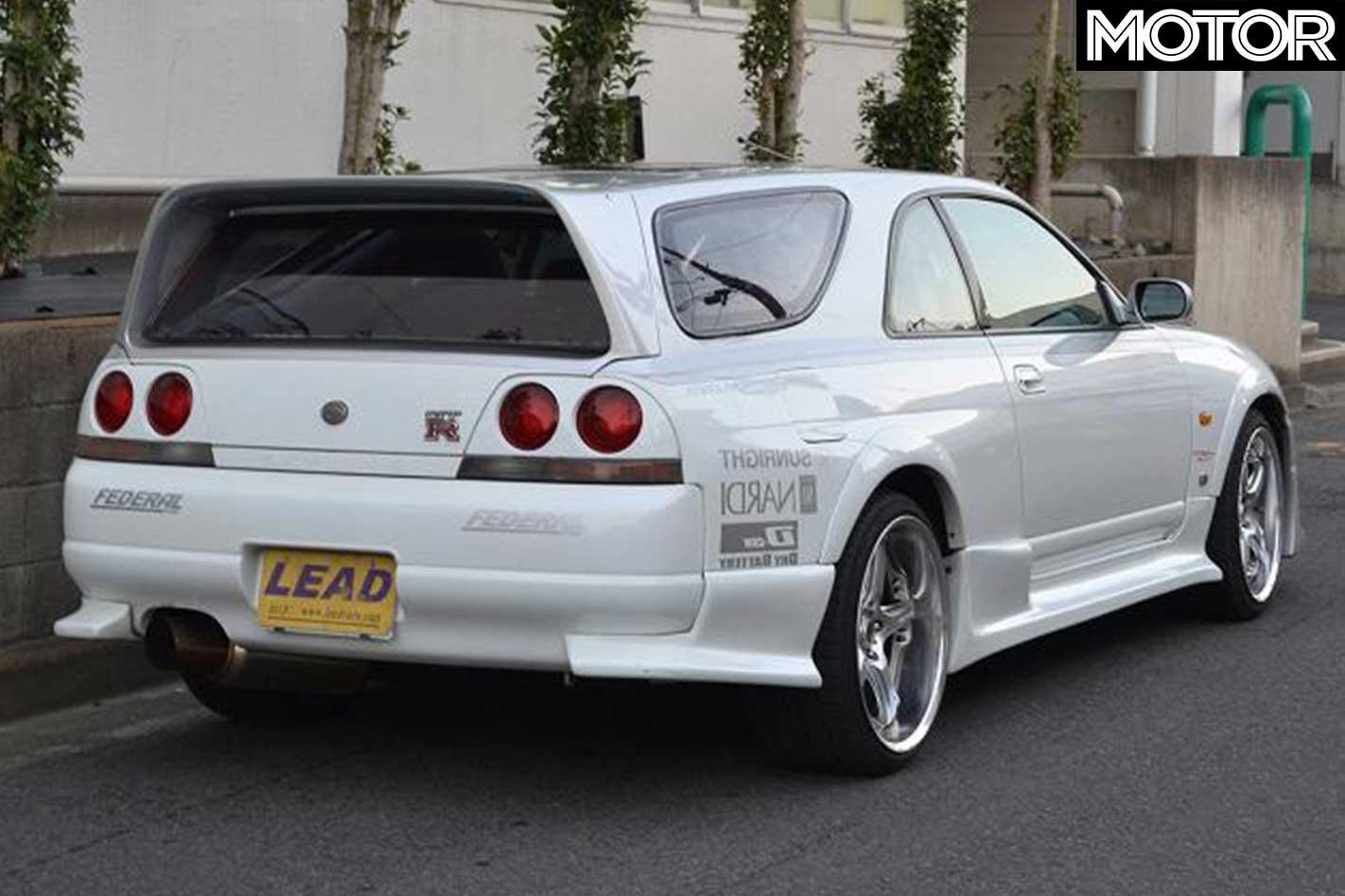 Nissan R 33 Skyline GT R Shooting Brake Rear Jpg