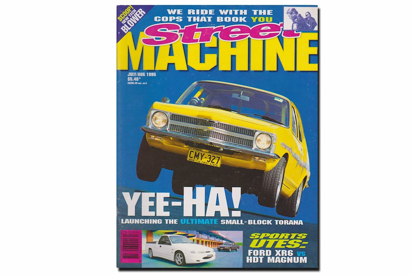 July August 1995 Street Machine cover