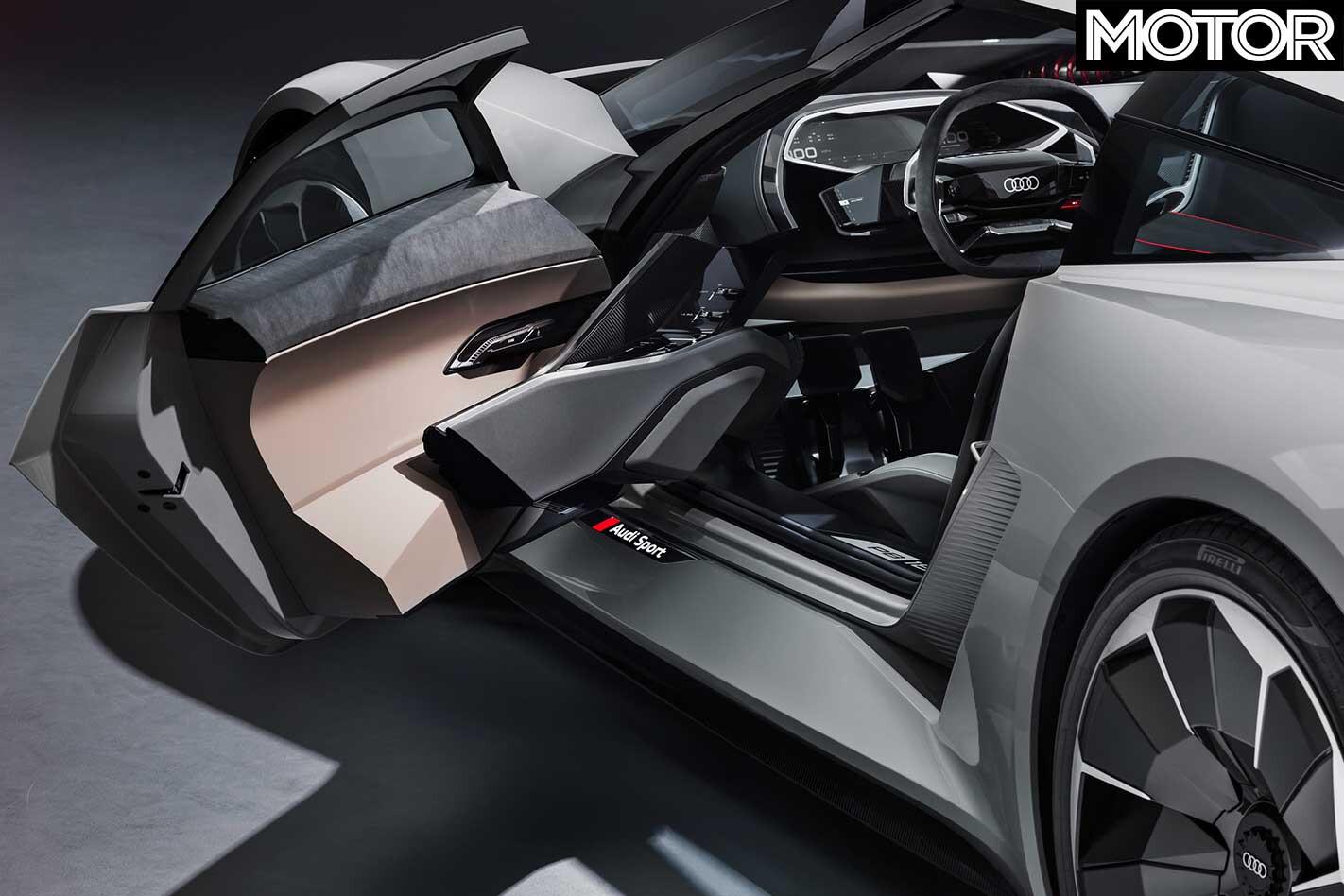 Audi PB 18 E Tron Concept Door Jpg