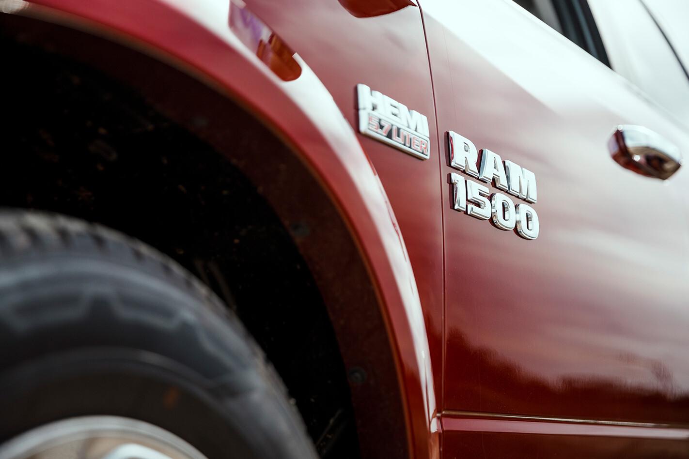 RAM 1500 badge