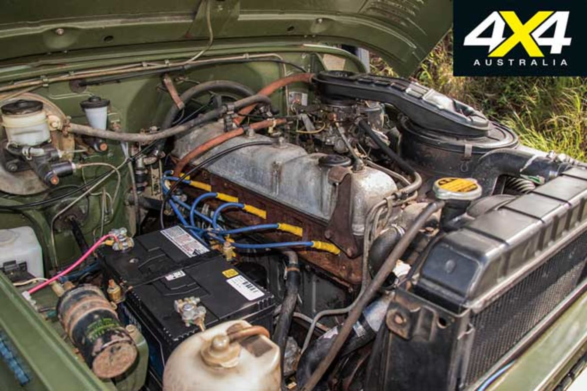 1976 Toyota Land Cruiser FJ 40 Engine Jpg