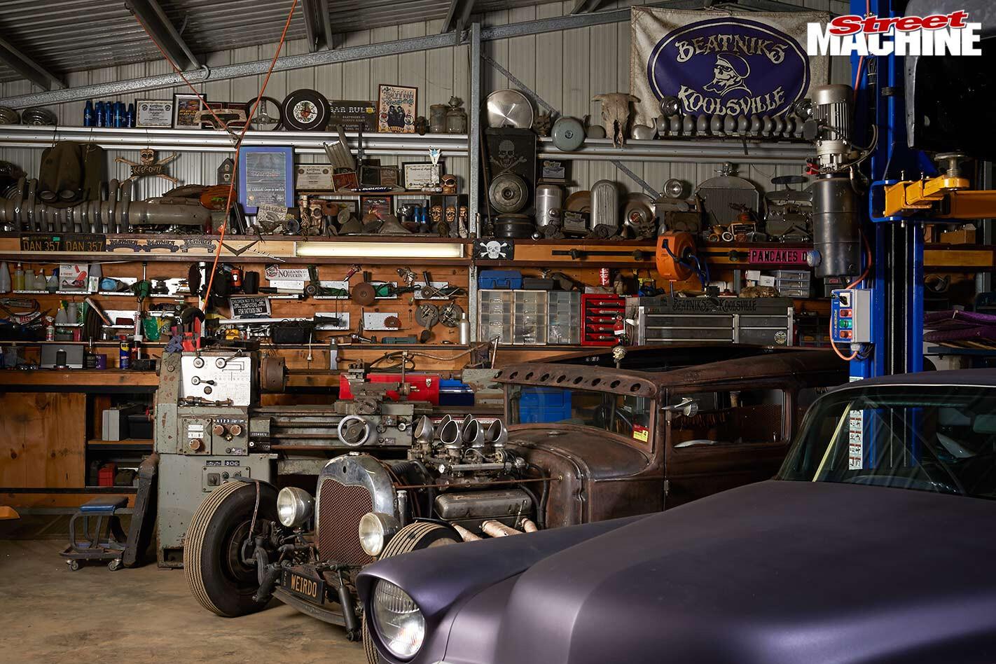Mark Milliott's shed