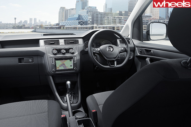 VW-Caddy -interior