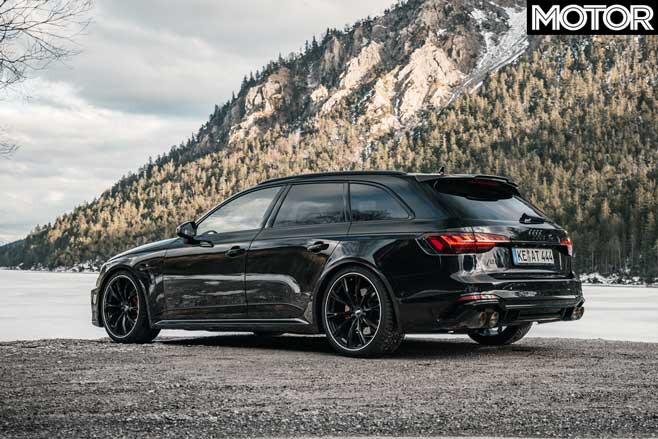 ABT Audi RS 4 Rear Jpg