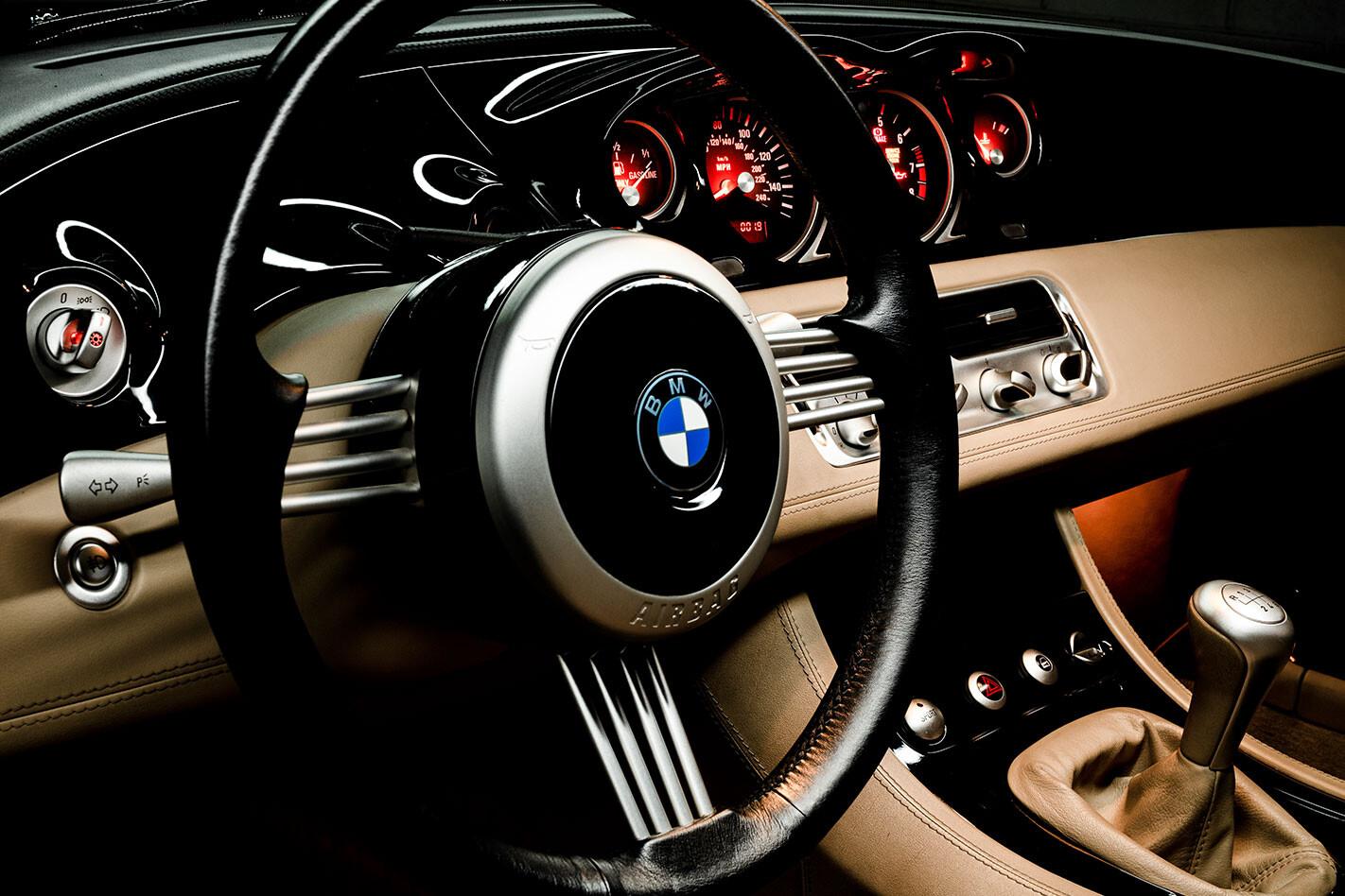BMW Z8 dash